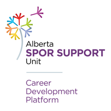 Alberta SPOR SUPPORT Unit, Career Development Platform logo