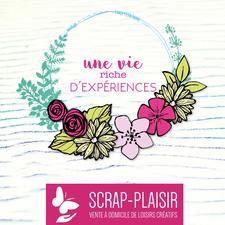 Viviane Delepierre- Conseillère Scrap Plaisir logo