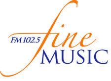 Fine Music 102.5 logo