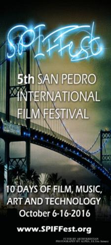 San Pedro International Film Festival logo