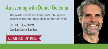 An evening with Daniel Goleman