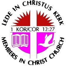 Lede in Christus Kerk logo