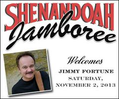 "Jimmy Fortune at Shenandoah Jamboree with Ben ""Cooter""..."
