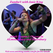Zumba® with ZIN™ Amie King logo