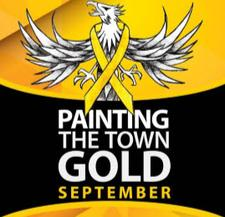 Painting the Town Gold logo