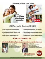 1st Time Home Buyer Seminar!