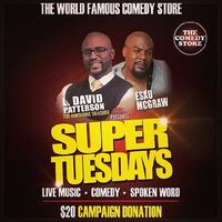 Super Tuesdays with Esau McGraw