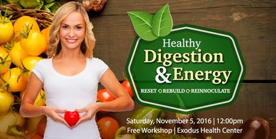 Healthy Digestion & Energy Workshop