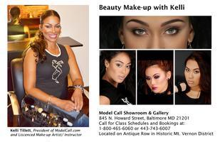 Monday Pro Class: Beauty Make-up with Kelli