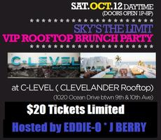 10/12 ROOF TOP DAY PARTY @ C-level Clevelander Miami...