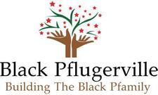 Black Pflugerville logo