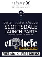 uberX Scottsdale Launch Party