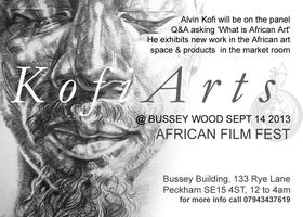 Welcome to Busseywood - Kofi Arts Exhibition and Talk