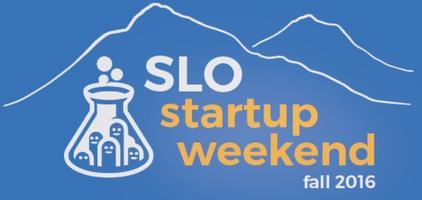 Startup Weekend San Luis Obispo - November 2016