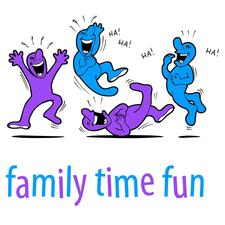 Andrew Mickan : Family Time Fun logo