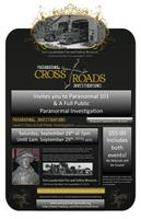 Paranormal Crossroads @ Fort Lauderdale Fire & Safety