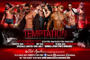 The Ultimate Stripper Temptation! Sat Oct 5th