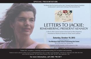 SPECIAL EVENT SCREENING OF LETTERS TO JACKIE