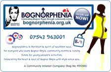 Bognorphenia Community Interest Company  logo