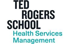 The School of Health Services Management, Ryerson University logo