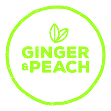 Ginger + Peach  logo