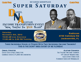 NE Florida Super Saturday in Jacksonville (DNA Income...