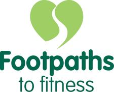 footpaths to fitness logo