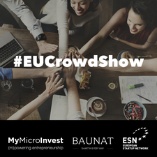#EUCrowdShow By MyMicroInvest logo