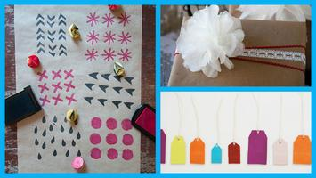 December Crafternoon:  Handmade gift wrap, tags, and...