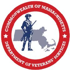 Commonwealth of Massachusetts Department of Veterans Services Women Veterans Network logo