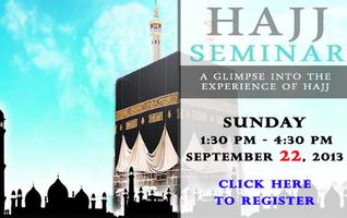 Hajj Seminar: Sunday, September 22nd @ Darul Uloom New...