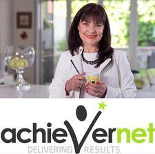 AchieverNet.  Phone 1300 402 722. logo