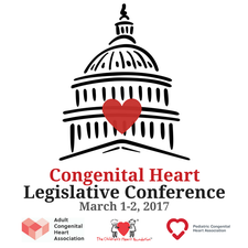 Congenital Heart Legislative Conference logo