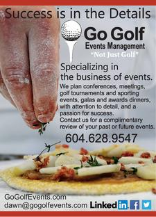 Go Golf Conference & Events Management logo