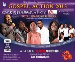 GOSPEL ACTION 2013