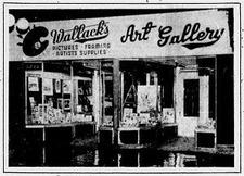 wallack galleries logo