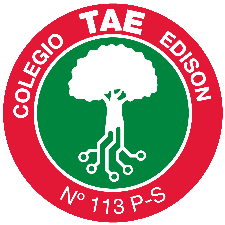 Colegio Tomas Alva  Edison  logo
