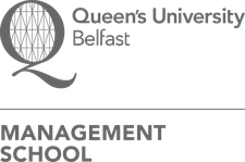 FinTrU Ltd, in association with Queen's Management School logo