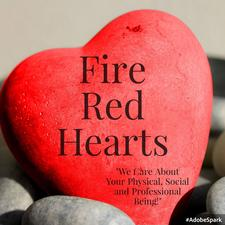 Fire Red Hearts logo