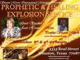 JOAN HUNTER ~PROPHETIC & HEALING EXPLOSION SERVICE~