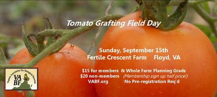 Tomato Grafting Field Day - Fertile Crescent Farm
