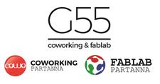 G55 - Coworking/Fablab Partanna logo