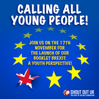 Brexit: A Youth Perspective - Booklet Launch