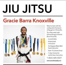 Gracie Barra Brazilian Jiu Jitsu Academy - Knoxville TN logo