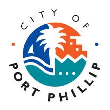 Sustainable Transport - City of Port Phillip logo