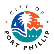 Sustainable Transport - City of Port Phillip logo