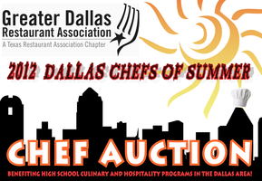 "2012 DALLAS CHEFS OF SUMMER ""Pop-Up"" Fundraiser"" Chef..."