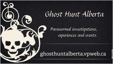 Ghost Hunt Alberta logo