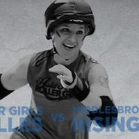 ARRG Cannon Belles vs Middlebrough Milk Rollers Rising ...