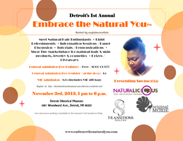 DETROIT'S 1ST ANNUAL - EMBRACE THE NATURAL YOU